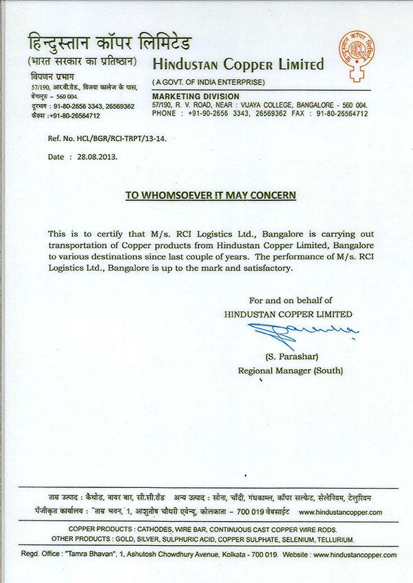 Awards Achievements Rci Logistics Pvt Ltd